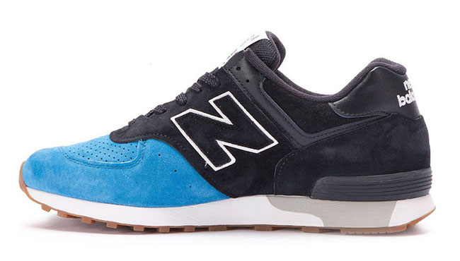 New Balance 576 Blue Toe Gum