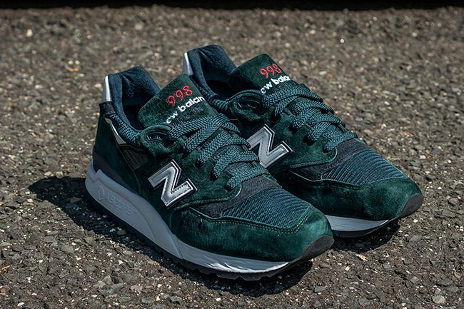 New Balance 998 Deep Green