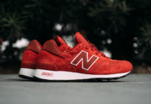 New Balance M1300CSU Brick Red