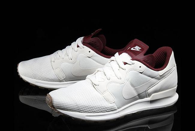 Nike Air Berwuda Premium White Maroon