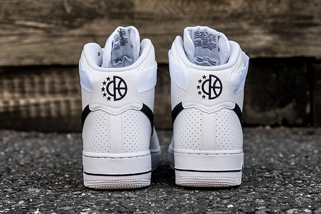 online store 93190 dc820 Nike Air Force 1 High Perf White Black