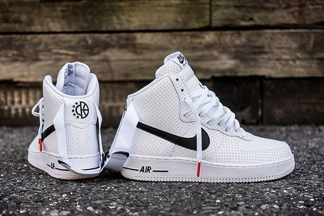 Nike Air Force 1 High Perf White Black good
