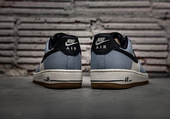 Nike Air Force 1 Low Blue Cap Gum