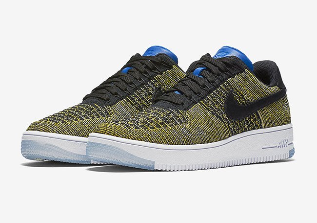 Nike Air Force 1 Low Flyknit Blue Tint