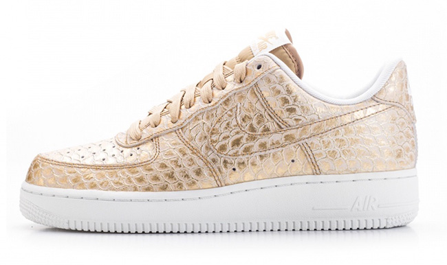 Nike Air Force 1 LV8 Metallic Gold Scales