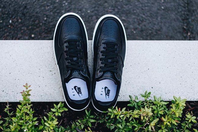 92eb3f246f94 durable modeling Nike Air Force 1 Ultraforce Leather Black White ...