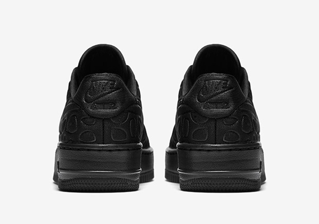 Nike Air Force 1 Upstep SE Triple Black