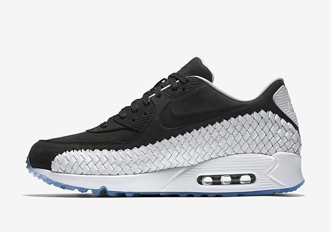 Nike Air Max 90 Woven Black White