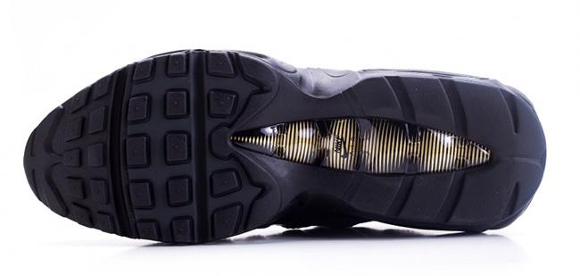 Nike Air Max 95 Premium Black Gold