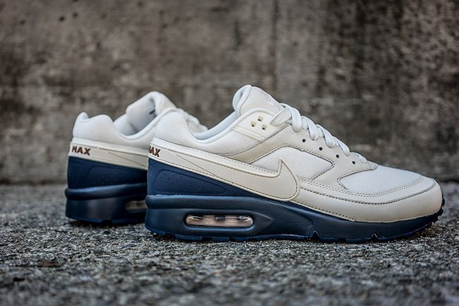 ec505bbe19 80%OFF Nike Air Max BW Premium Featuring Sail and Midnight Navy ...