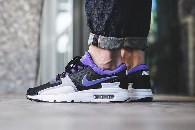 a55cadf6c76 70%OFF How the Nike Air Max Zero Persian Violet Looks on Feet ...