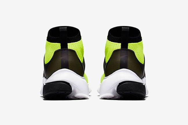 Nike Air Presto Ultra Flyknit Volt Black White