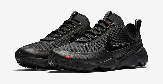 7a64f63928162 Nike Air Zoom Spiridon Ultra Triple Black Release Date