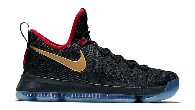 Nike Basketball KD 9 Gold Medal