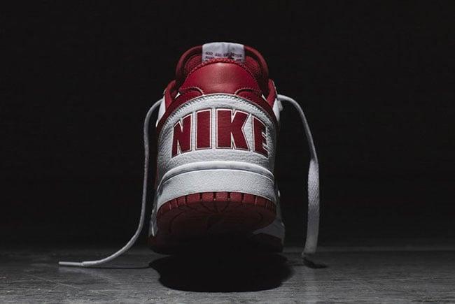 Nike Big Nike Low White Red