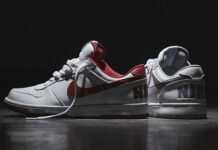 Nike Big Nike Low White Red