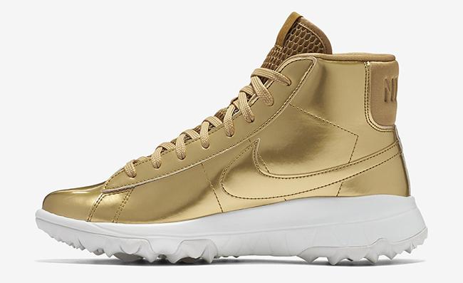 Nike Blazer Gold Golf Shoes