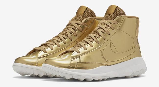 Nike Blazer Gold Golf Shoes | SneakerFiles