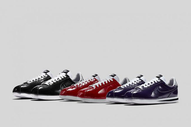 buy popular d1907 888dd Nike Cortez Basic Premium Patent Leather Pack