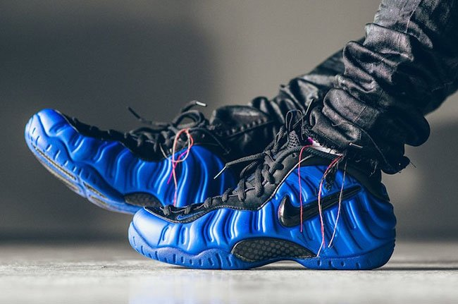 premium selection 0a8c7 a6e44 Nike Air Foamposite Pro Hyper Cobalt Blue Black | SneakerFiles