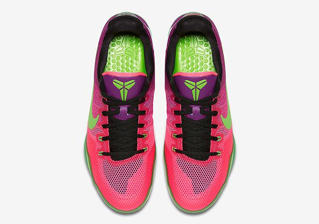 Nike Kobe 11 EM Mambacurial Pink Flash Green