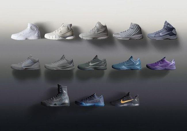 Nike Kobe Bryant Fade to Black Restock Mamba Day