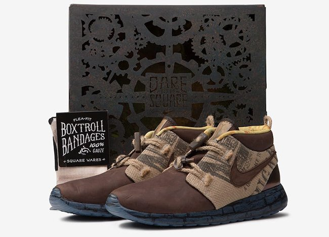 Nike LAIKA Collection Roshe Air Boxtroll Bandages