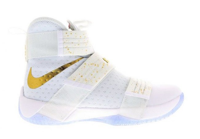 Nike LeBron Soldier 10 Gold Medal  ff6cc1cef7