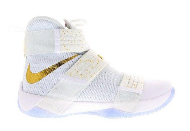 Nike LeBron Soldier 10 Gold Medal