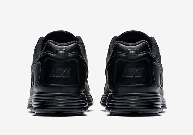 Nike Lunar Flow Leather Triple Black