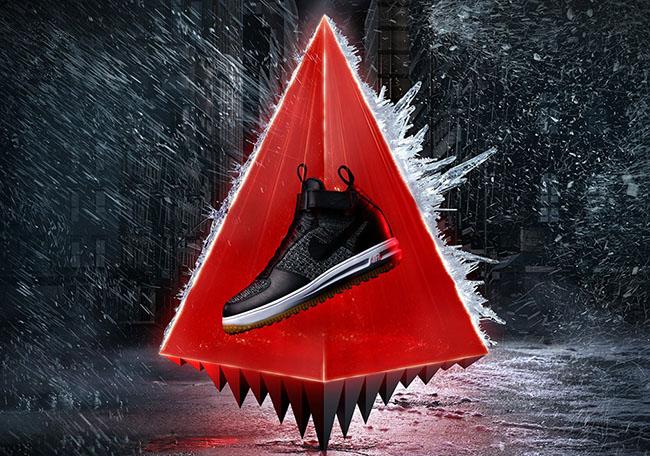 Nike Lunar Force 1 Flyknit Workboot Sneakerboot Fall 2016