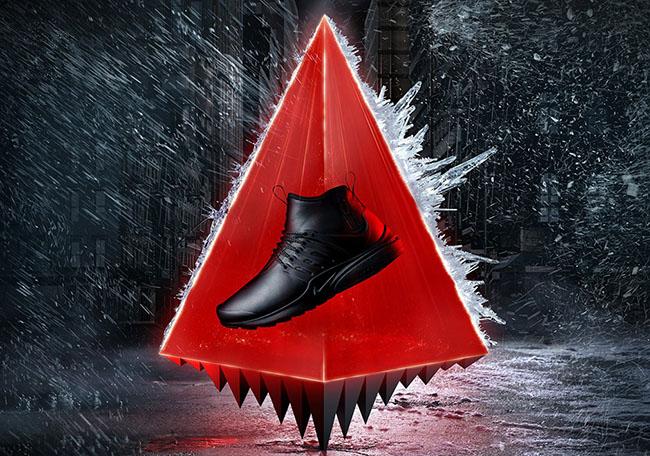 Nike Air Presto Mid Utility Sneaker Boot Fall 2016