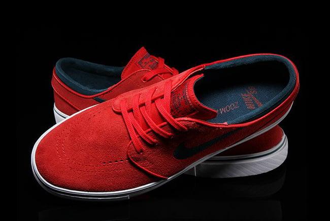 Nike Stefan Janoski Zoom Rosso bculIVRs6