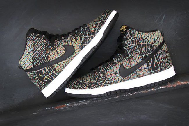 Nike SB Dunk High PRM Psychedelic