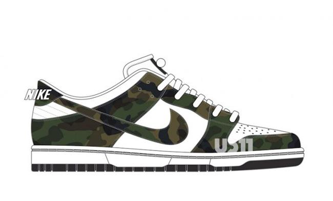 fe8e7215f88c Nike SB Dunk Low Pro Camo White