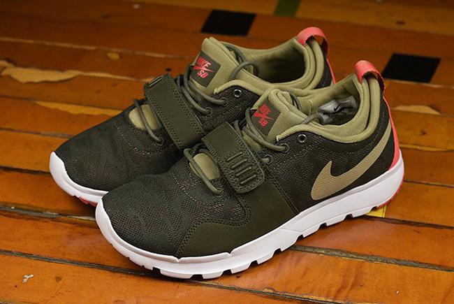 Nike SB Trainerendor Olive