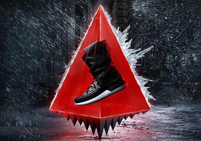 Nike Womens Roshe Two Hi Flyknit Sneakerboot Fall 2016