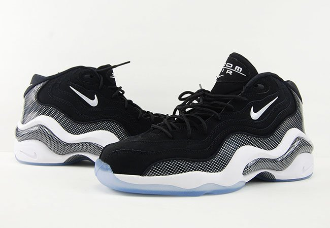 Nike Zoom Flight 96 Black White Carbon Fiber Retro 2016 Review On Feet