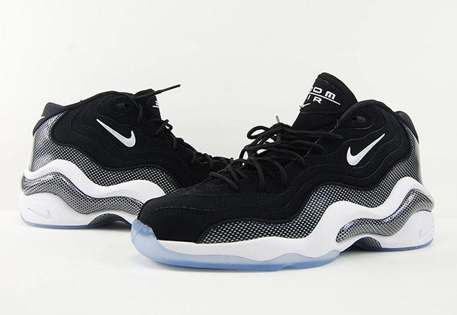 Nike Zoom Flight 96 Black White Carbon Fiber Retro 2016 Review On Feet