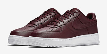 NikeLab Air Force 1 Low Maroon