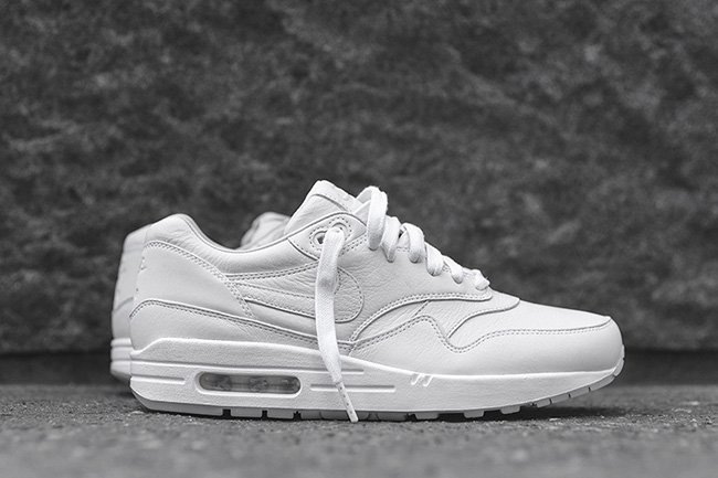 best sneakers 9587c 72391 NikeLab Air Max 1 Pinnacle White Black