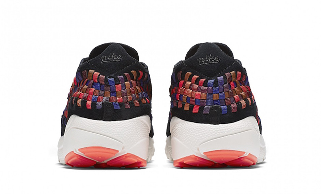 NikeLab Air Footscape Woven Rainbow Black