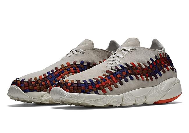 NikeLab Air Footscape Woven Rainbow White