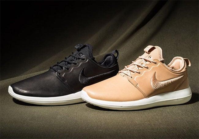 NikeLab Roshe Two Premium Black Tan