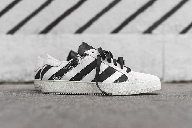 Off-White Striped Sneaker Pack