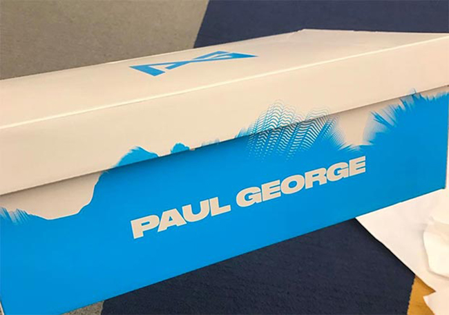 Paul George Nike PG 1 Shoe Box