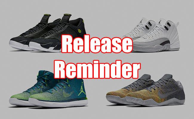 Sneakers Release August 11 13 2016