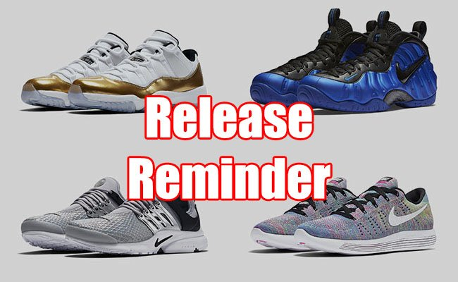 Sneakers Release August 25 27 2016