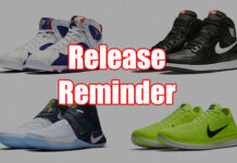 Sneakers Release August 4 8 2016
