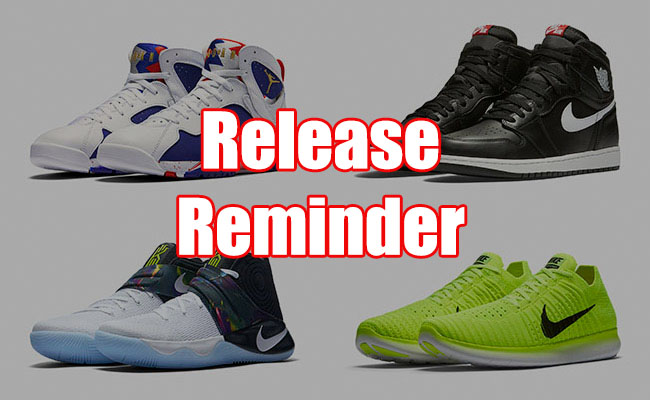 Sneakers Release August 4 8 2016